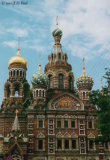 St. Petersburg:  Church on the Spilled Blood