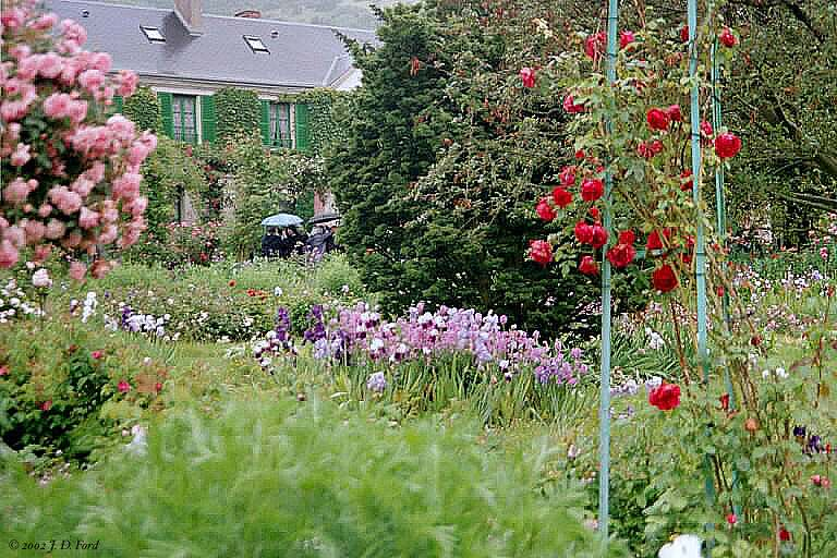 Giverny:  Monet's Garden, No. 3