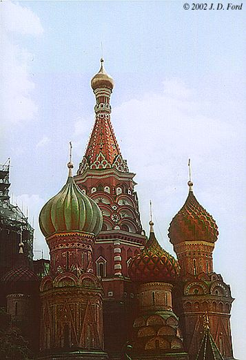 Moscow, Red Square:  St. Basil's Cathedral, No. 2